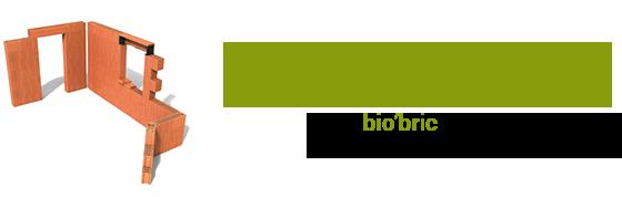 logo et baseline marque bio'bric